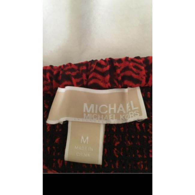 Michael Kors Black and Red Top Michael Kors Black and Red Top Image 3
