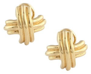 Tiffany & Co. Tiffany & Co. 18K Gold Signature X Earrings