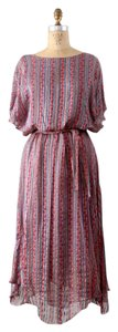 Neiman Marcus 1970 Vintage Silk Boho Dress