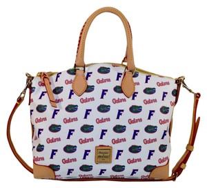 Dooney & Bourke & Florida Gators Satchel in multi -white