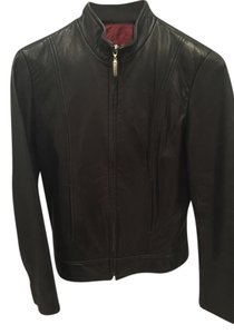 Nicole Miller Soft Leather Jacket
