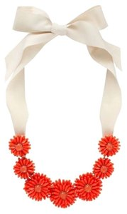 Kate Spade Coral Petals on 12K Gold Plate Set Out Modern Twist on Floral Beauty! Kate Spade Gerbera Daisy Necklace! NWT Sweet & Flowing BoHo Beauty!