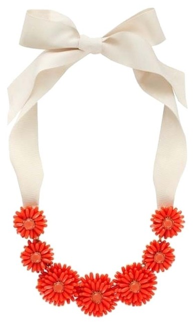 Kate Spade Coral & 12k Gold Plate Twist Petals On Set Out Modern On Floral Beauty Necklace Kate Spade Coral & 12k Gold Plate Twist Petals On Set Out Modern On Floral Beauty Necklace Image 1
