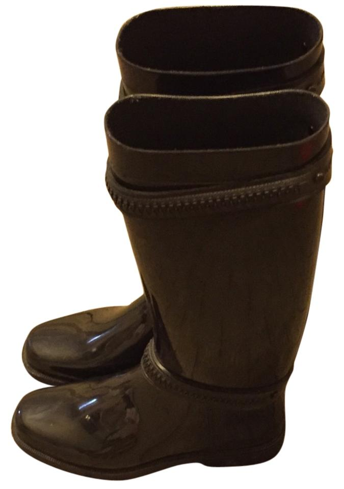 Women's Givenchy Black Rain Boots/Booties appreciated Win highly appreciated Boots/Booties f1431c