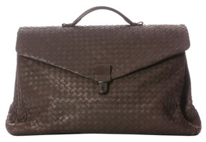 Bottega Veneta Unisex Bv.h0206.12 Men's Woven Satchel