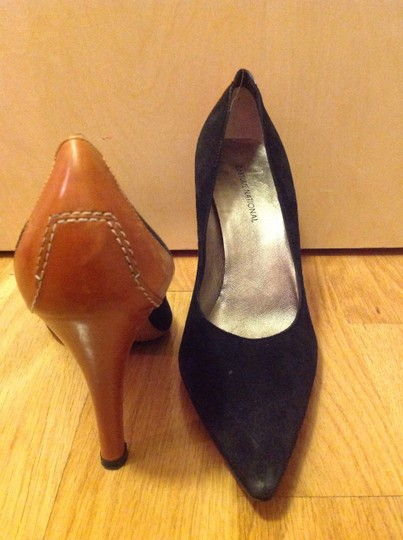 Costume National black and brown Pumps
