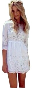 Glam short dress White on Tradesy