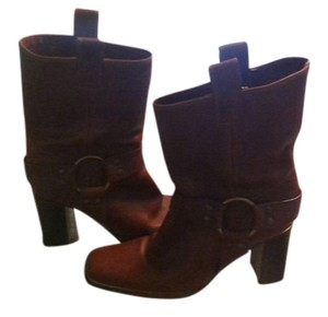 Michael Kors Western Style brown Boots