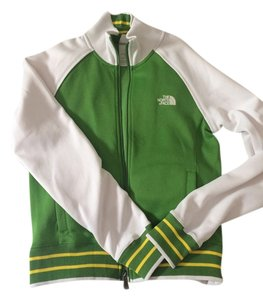 The North Face White/Green Jacket