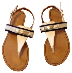 Tommy Hilfiger White and blue Sandals