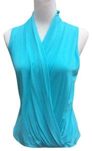James & Joy Voombyjoyhan Top Aqua