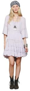 Free People short dress Light lilac on Tradesy