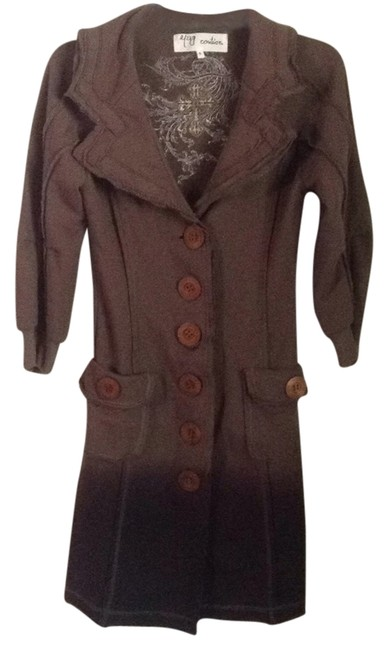 Item - Ombre Brown Jacket Size 4 (S)