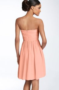 Donna Morgan Peach Fuzz 57986sxephz Destination Bridesmaid/Mob Dress Size 6 (S)