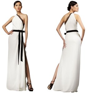 Robert Rodriguez Gown Maxi Lace Velvet One Dress