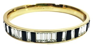 Kate Spade Exquisite Design with Faceted Baguettes Piano Keys! Kate Spade 88 Keys Bangle NWT Perfect Escape from Piano Practice! Classic Witty!