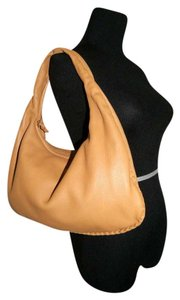 Bottega Veneta Soft Leather Suede Lining Braidedleather Trim Hobo Bag