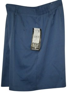 CORAL BAY Golf Nwt Dress Shorts BLUE
