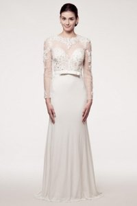 Kari Chang Eternal Kari Chang Eternal Kcw161490 Sheer Long Sleeve Wedding Dress