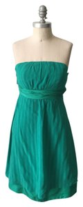 Moulinette Soeurs Strapless Silk Chiffon Flirty Feminine Dress