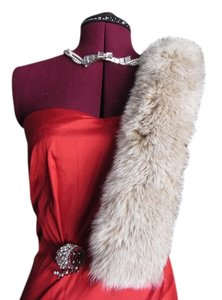 Saks Fifth Avenue Genuine Fox Fur Collar or Stole Saks Fifth Avenue