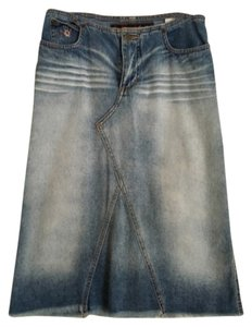 Mudd Skirt Acid wash