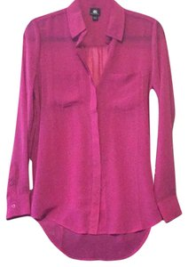 Rock & Republic Button Down Shirt fuchsia