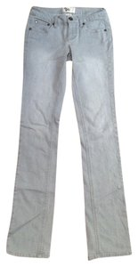 SO Skinny Juniors Straight Leg Jeans-Light Wash