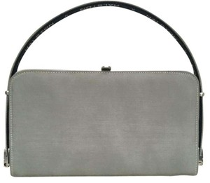 Halston Couture Clutch Baguette Tote Vintage Shoulder Bag