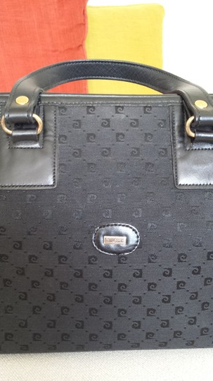 Pierre Cardin Vintage Satchel in Black