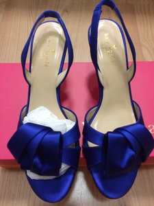 Kate Spade Cobalt Madison Slingback Formal Size US 7.5