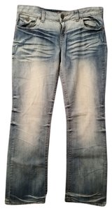 Underground Soul Boot Cut Jeans-Light Wash