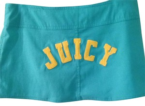Juicy Couture Mini Skirt Turquoise