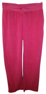 Danskin Now Danskin Now sz S (4-6) pink fleece multi-sport/casual pants/100% Polyester