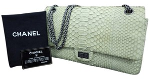 Chanel Python Matte Shoulder Bag
