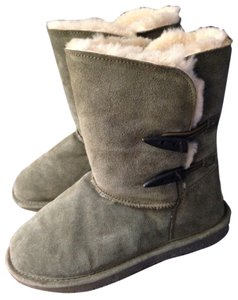 Bearpaw Dark Green Boots