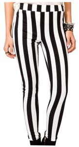 Forever 21 Striped Leggings