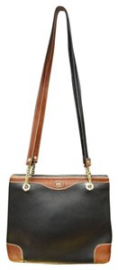 Bally Leather Pebbled Chain Classic Shoulder Bag
