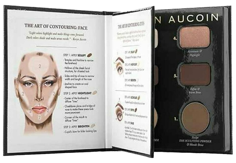 kevyn aucoin multicolor sephora the art of contouring makup book