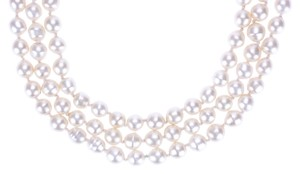 Chanel Chanel Vintage Pearl Multi-Strand Necklace