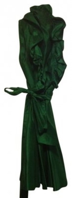 Preload https://item4.tradesy.com/images/ralph-lauren-emerald-green-wrap-above-knee-cocktail-dress-size-8-m-9263-0-0.jpg?width=400&height=650