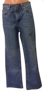 Tommy Hilfiger Vintage Classic Straight Leg Jeans-Medium Wash