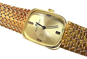 Baume & Mercier Baume & Mercier Geneve Vintage 14 Karat Yellow Gold Watch