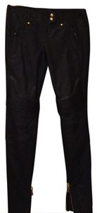 Balmain x H&M Skinny Pants Black leather