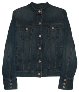 Gap Snap Front 2 Hand Pockets Womens Jean Jacket