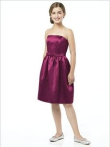 Dessy Junior Bridesmaid Dress Jr 509......ruby....sz 8 Jb