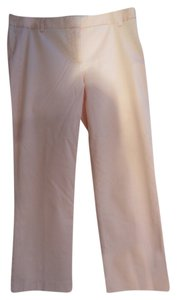 J.Crew Cotton Stretch Cropped Classic Trouser Pants Pink