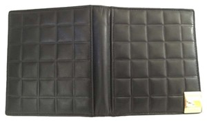 Chanel Price reduced for quick sale! Authentic Chanel Black Lambskin Leather Quilted Chocolate Bar Super Soft Wallet