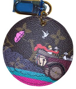 Louis Vuitton ILLUSTRE TRAVEL BAG CHARM Monogram