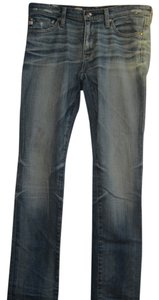 AG Adriano Goldschmied Skinny Straight Leg Jeans-Distressed